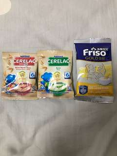 FOC any milk purchase Nestle Cerelac