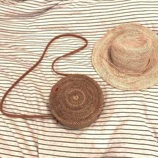 🚚 渡假風手工編織包