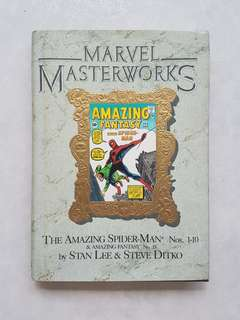 Marvel Masterworks Deluxe Library Edition Volume 1 Amazing Spider-Man Hardcover Rare First Edition Hardcover