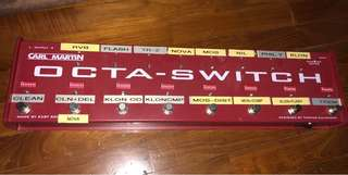 Carl Martin Octa-Switch Pedal Looper Switcher MK1 (1st Generation)