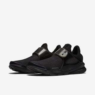 Authentic Nike Sock Dart Triple Black