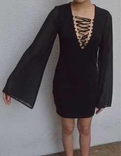 F21 cut out dress