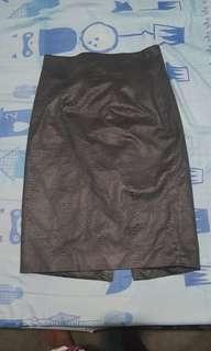 Zara pencil cut skirt