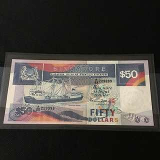 (229999) Ship $50 Note