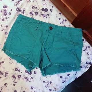 🚚 藍綠色短褲