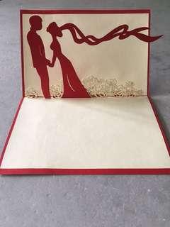 [POP UP] Wedding Card - Gift Idea