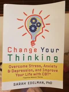 Change your thinking with CBT by Sarah Edelman BN free delivery