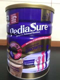 Pediasure premium chocolate milk powder