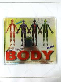 Your Amazing Body: An interactive Journey Through Your Body by Richard Walker, Carlton Books (Interactive), 32 pages, Hardcover (Biology Science Non-Fiction Reference)