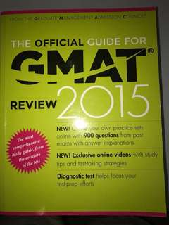 GMAT Official Guide 2015