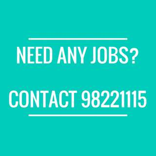 $1.8k/mth Bank Assistant (till end of year) needed !!! CONTACT 98221115 FOR BEST JOBS !!