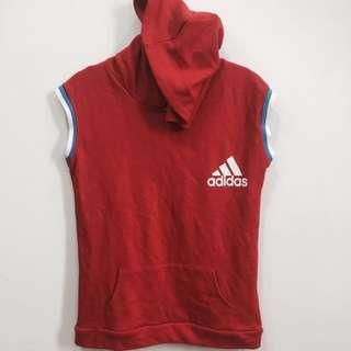 Adidas hoodie sleeveless