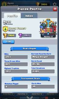 🚚 Clash Royale Acckunt