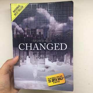 Changed (Harry Styles Fanfiction book)