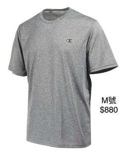 🚚 Champion T-shirt 吸汗透氣排汗衫M號