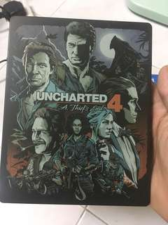 Ps4 Uncharted 4 A Thief's End Steelcase Steel book