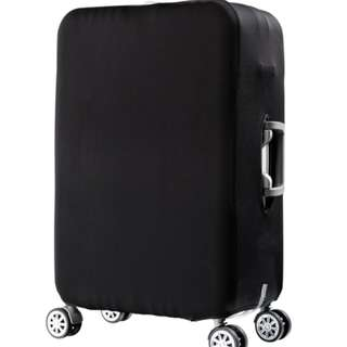 Travel Luggage Cover - True Black Edition