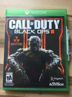 Call Of Duty Black Ops 3(Xbox one)