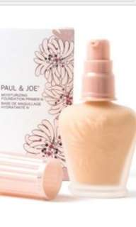Paul and Joe moisturizing foundation primer s
