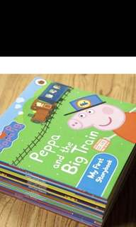 Peppa pig books (17 titles)