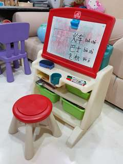 Fisher-Price Step 2 Art Easel or Study Table/ Desk