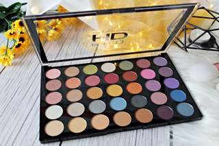 🚚 Exhilarate Pro Amplified Eyeshadow Palette by Makeup Revolution