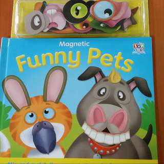Value Buy Funny Pets With Magnetic Eyes Very Entertaining For 3 to 5 yrs Old