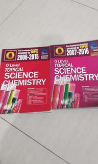 o level topical science chemistry