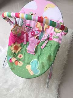 Bright starts baby bouncer Pink