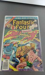 Fantastic Four Annual bronze age marvel comics