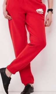 Red roots sweat / Track pants