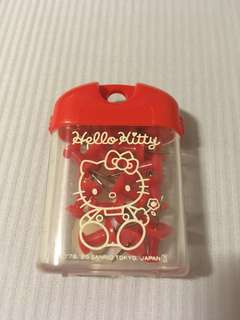 authentic sanrio box of 15 hello kitty thumbtacks