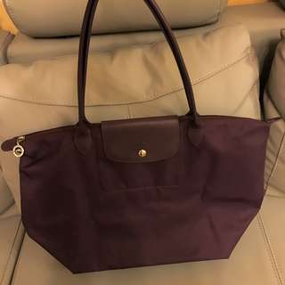Longchamp dark purple Size L