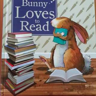 Value Buy!! Bunny Loves To Read