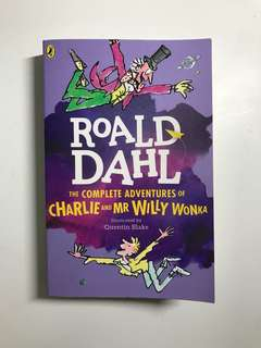 Roald Dahl The Complete Adventures of Charlie and Mr Wily Wonka