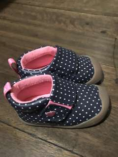 Carter's Baby girl's shoes: Abby Crawl Shoes
