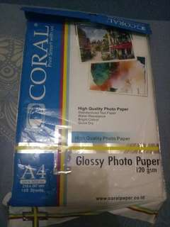 Kertas foto glossy / photo paper