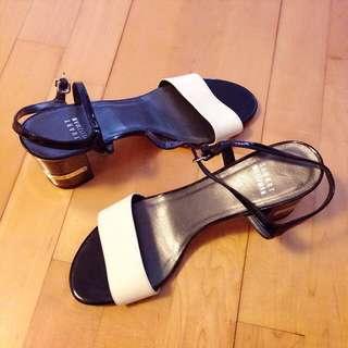 Stuart Weitzman B/W Sandals