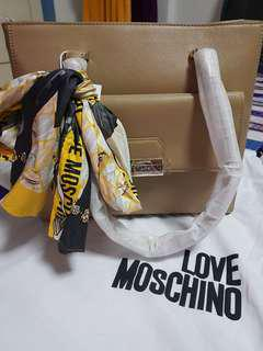 Love Moschino Sabbia Tote bag