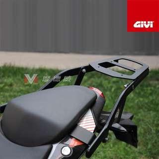 KTM Givi back bracket box luggage metal authentic Duke duke 200 390 rack strong bracket back topbox pillion bar