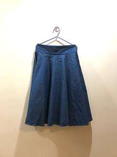 Denim Skirt from Korea