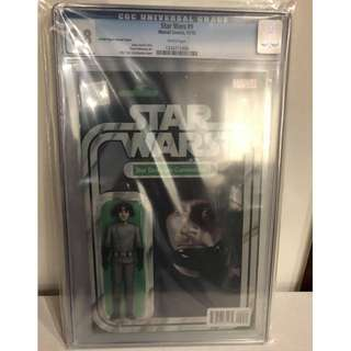 CGC 9.8 Star Wars #9 Star Destroyer Commander Action Figure Variant by John Tyler Christopher