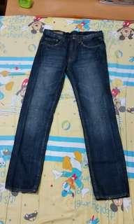 Rue De SiIencieux 藍色牛仔長褲
