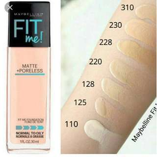 🚚 Maybelline Fit Me 228 Foundation