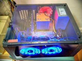 組装電腦八核十六線 8C16T 16GB 低價高效