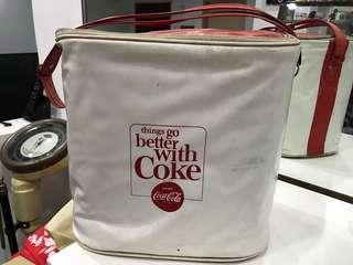 Vintage Coke Cooler Bag RARE