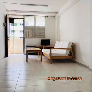 For rent: whole 3 room flat @ Eunos Crescent