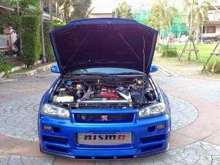 Nissan Skyline R34 GTR V-Spec Thai