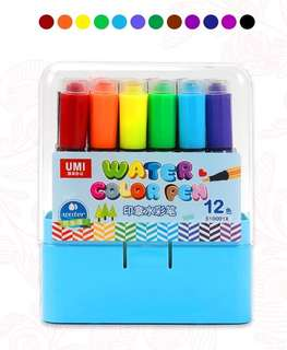 🚚 2-in-1 Stamps & Colours Markers