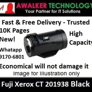 Fuji Xerox CT201938 Black Toner 10,000 Pages Compatible will not damage Printer Warranty 12 months Delivery 1 to 3 Business Day Trusted Products! Recommended by Past User DocuPrint Series: P355d, P355db and M355df.